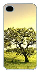Coll Tree PC Case Cover for iPhone 4 and iPhone 4s White