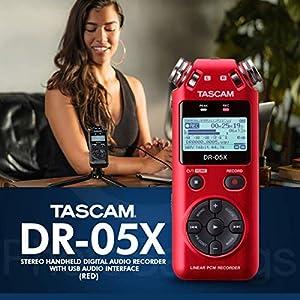 Tascam DR-05X Stereo Handheld Digital Audio R...
