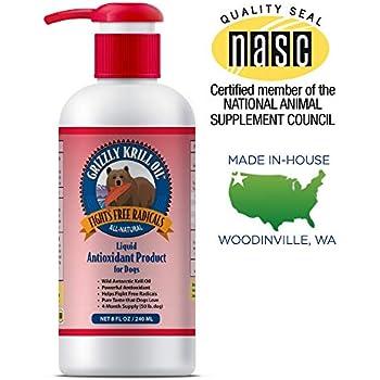 Amazon.com : Pet Vitamin Co - Antarctic Krill Oil Shed