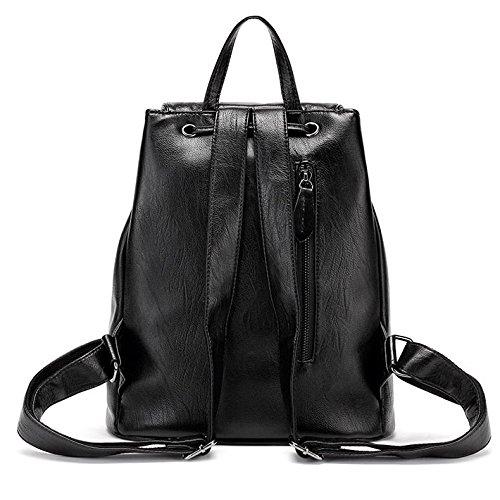 Sacs Main Simple Occasionnel Lady Bandoulière Black Portable Dos Sauvage Élégant Sac Zllnsxkb À q8v4a