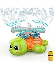 FOSUBOO Outdoor Tuin Speelgoed voor peuters, Water Sprinkler voor kinderen, Water speelgoed voor waterspelen, Spinning Sprinkler voor tuin tuin gazon groente, Water Spray, Zomer speelgoed voor 3 4 5 6 7 jaar oude kinderen