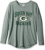 OTS NFL Green Bay Packers Women's Triblend Long Sleeve Dolman Tee, Dolman, Small