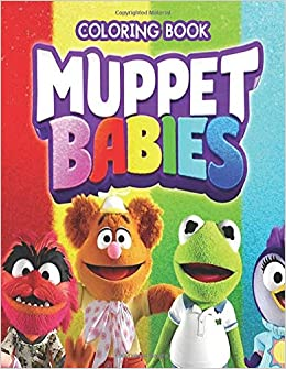 Amazon.com: Muppet Babies Coloring Book: Activity Book for Kids and ...