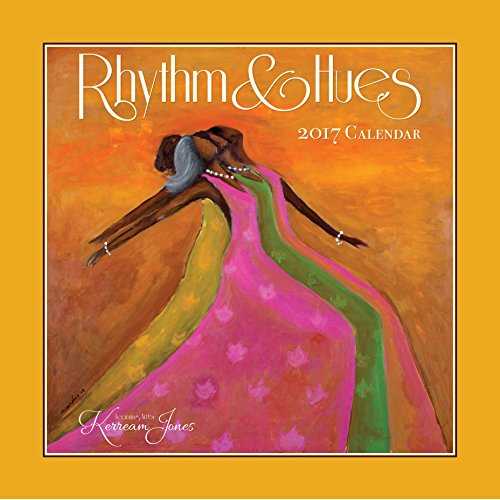 "Shades of Color 2017 Rhythm & Hues African American Calendar featuring art by Kerream Jones, 12 by 12"" (17KJ)"