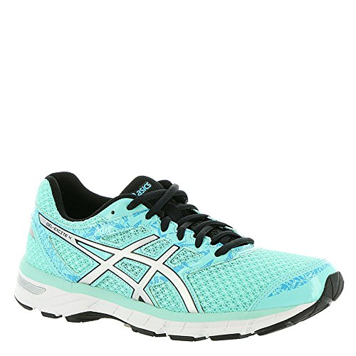 ASICS Women's Gel-Excite 4 Running Shoe, Aruba Blue/Silver/Aquarium, 6.5 M US