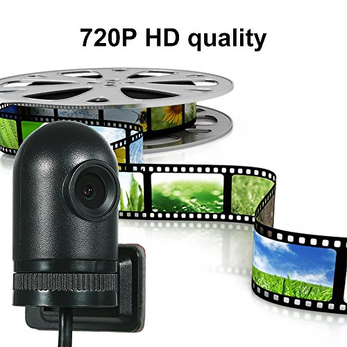 Walmeck 140 Degree Wide Angle HD 720P USB DVR Front Camera Recording Video Supporting Android 7.1 6.0 5.1 by Walmeck (Image #3)