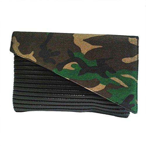 Borsa clutch, Mykonos Camouflage, in sympatex