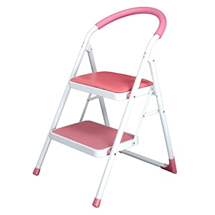 Tremendous Amazon Com Lxf Step Stool Kitchen Foldable 2 Step Ladder Lamtechconsult Wood Chair Design Ideas Lamtechconsultcom
