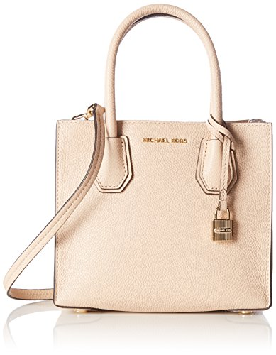 MICHAEL Michael Kors Women's Mercer Medium Messenger Bag Oyster One Size