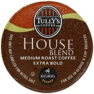 Tully's House Blend K-Cup packs for Keurig Brewers (Pack of 50), Garden, Lawn, Maintenance