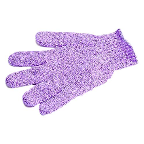 YoYoly 2 Pairs New Premium Shower Bath Towel Gloves Gloves Exfoliating Gloves Body Scrubbers (Multicolor)