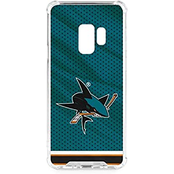 16738f5cfdc Skinit San Jose Sharks Home Jersey Galaxy S9 Clear Case - Skinit Clear Case  - Transparent Galaxy S9 Cover
