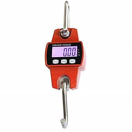 Profesional grúa Balanza colgante Last Báscula Báscula LCD 300 kg/100g batería de la Industria