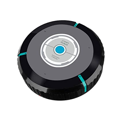 Electric Floor Mops Smart Cleaning Robot Vacuum Cleaner Sweeping Machine Floor Dirt Dust Hair Mute Intelligent Automatic Induction For House Clean