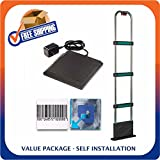 Retail Security Value Pack Including Tower + Deactivator + Soft Labels - EAS Loss Prevention - MADE IN USA