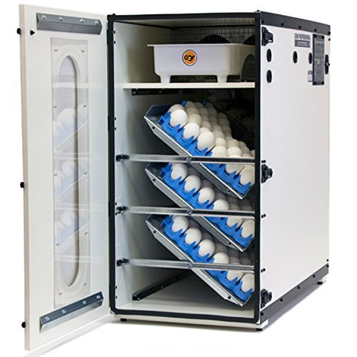 (GQF 1500 Professional Cabinet Incubator INCLUDES 6 PCS. HATCHING EGG TRAYS USA (Combination of up to 6 Trays))