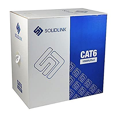 SolidLink SL603 CAT6 1000; UTP Solid Conductor Cable 23AWG LAN Network Ethernet RJ45 Wire