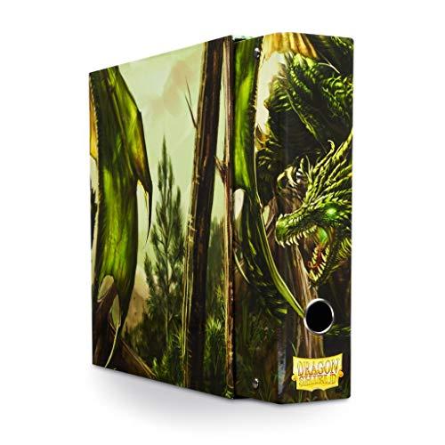 Arcane Tinman Slipcase Binder: Dragon Shield 9 Pocket Dragon Art Green AT-33504