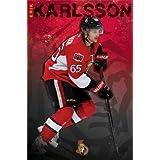 "Erik Karlsson - Ottawa Senators NHL 2013 22""x34"" Art Print Poster by Trends International"