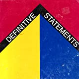 Definitive Statements : American Art, 1964-66, Brown University, Department of Art Staff, 093351901X