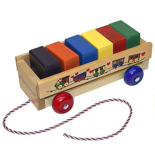 Holgate HZ308 Mis primeros bloques Tire lo largo del juguete: Amazon.es: Bebé