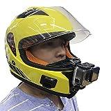 HITSAN INCORPORATION Motorcycle Full Face Helmet Chin Mount for All GoPro Hero SJCAM Action Camera (Standard)
