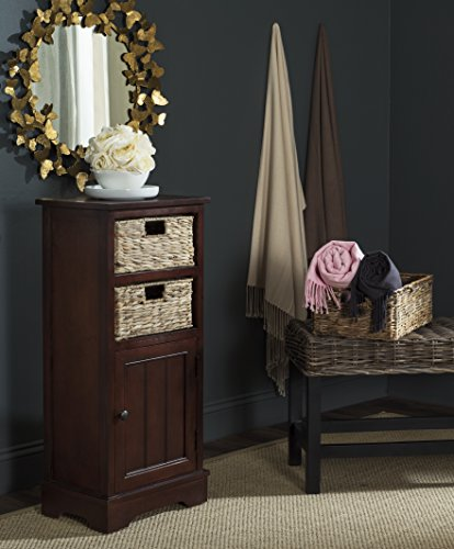 - Safavieh American Homes Collection Connery Cherry Cabinet