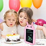 LODBYKidsToys for 3 4 5 6 Year Old Girls Gifts, LCD Writing Drawing Board for Girls Birthday Gifts for 3 4 5 6 Year Old Girls Toys Age 2-6, Electronic Drawing Tablet for KidsGirls GiftsAge 2-6