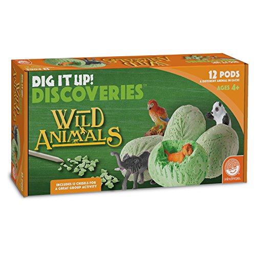 These Small Animal - MindWare Dig It Up! (Wild Animals)
