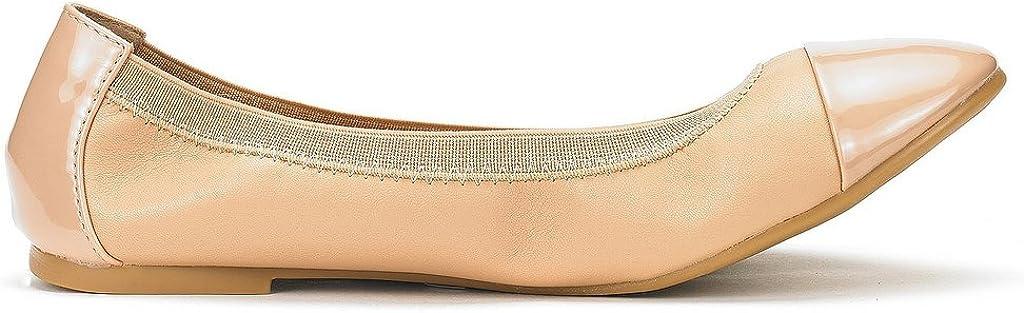 DREAM PAIRS Womens Sole-Flex Ballerina Walking Flats Shoes