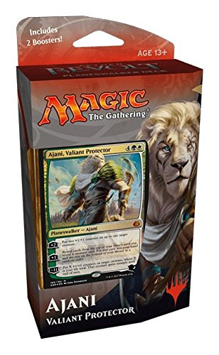 Magic the Gathering: Aether Revolt Planeswalker Deck - Ajani, Valiant Protector (Includes 2 Booster Packs)