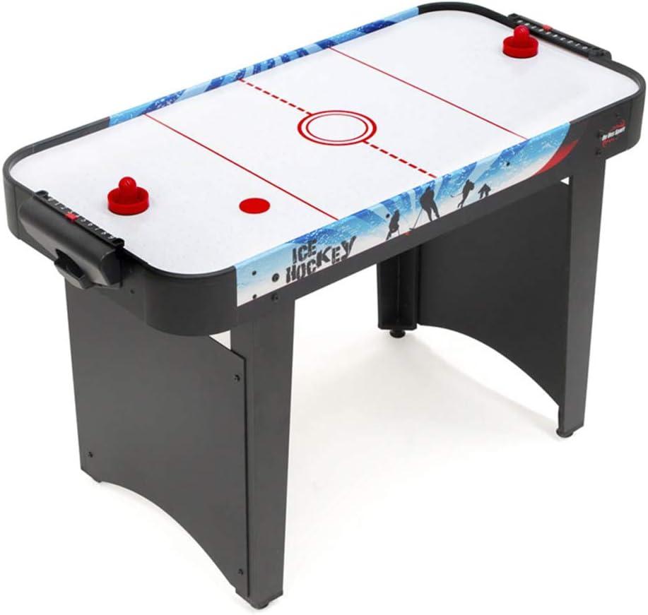 PL Ociotrends Devessport - Airhockey Compacto - Incluye Dos panales como Patas para una Mayor Estabilidad - Fácil Montaje - Ideal para Jugar con Amigos - Medidas: 122 x 61 x 78 Cm: Amazon.es: Juguetes y juegos