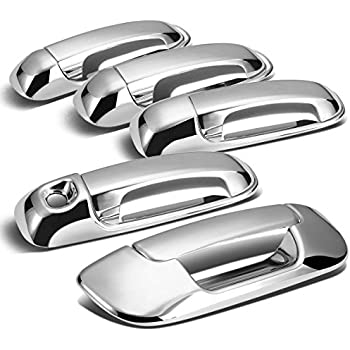 Dodge Ram 4DR Tailgate+Door Handle Cover (Chrome)  sc 1 st  Amazon.com & Amazon.com: Dodge Ram 4DR Tailgate+Door Handle Cover (Chrome ... pezcame.com