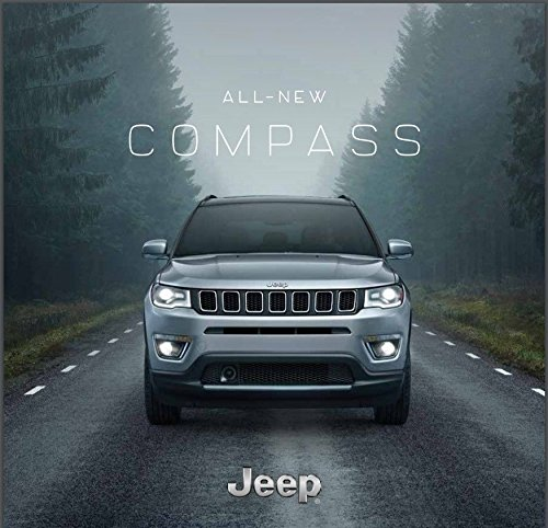 2018 Jeep Compass 42-page Original Car Sales Brochure Catalog