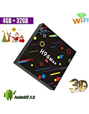 Aoxun H96 MAX Amlogic RK3328 Android 7.1 BOX 4K 4G RAM 32G ROM TV Box ROM with Quad Core WiFi H.265 Android TV Box Smart TV Box H96 Android tv box 64 Bit Bluetooth 4.0