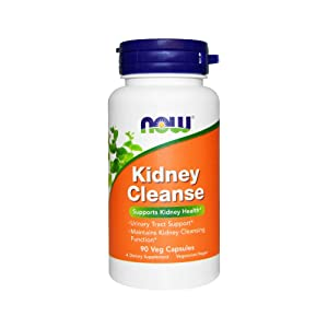 Now Supplements, Kidney Cleanse with Uva Ursi, Parsley Seed, Fennel, and Horsetail, 90 Veg Capsules