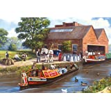 Waterside Delivery 500 piece jigsaw puzzle by Kevin Walsh