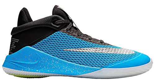 Nike Kid's Future Flight GS, Blue Hero/Chrome-Black, Youth Size 5.5 ()