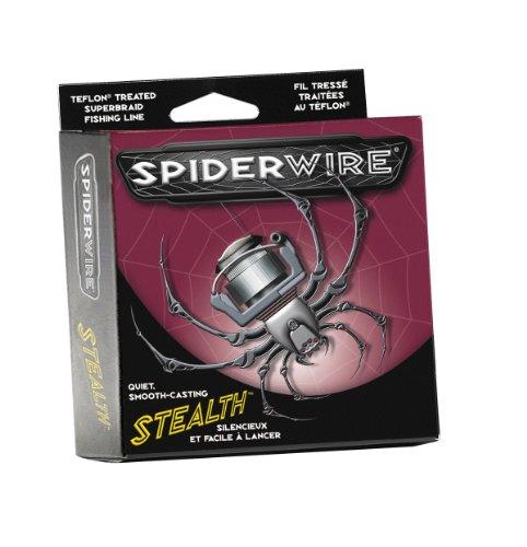 Spiderwire Stealth Braid 300-Yard Spool (Moss Green, Pound/Diameter 50/12), Outdoor Stuffs