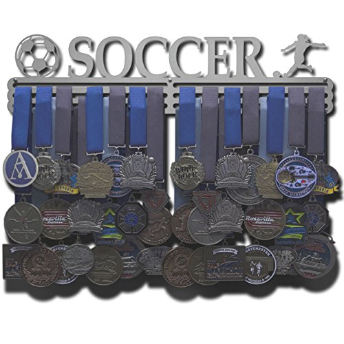 Allied Medal Hangers - Soccer - Female Figure (18