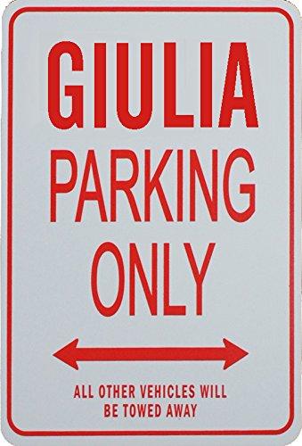 GIULIA Parcheggio unico segno - Alfa Romeo Nexus Innovations IT-GIULIA