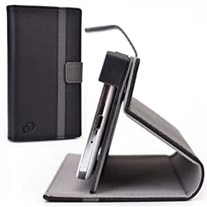 Black/Grey Stand Protective Cover fits Xolo Q700