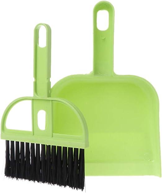 Kalttoy - Juego de escoba pequeña y recogedor para limpiar el ...