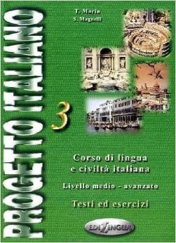 Amazon.com: Progetto Italiano 3: Advanced (Italian Edition