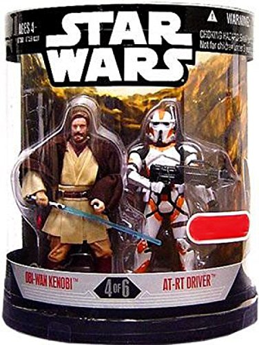Star Wars  Order 66   Set 4 of 6  ObiWan Kenobi and ATRT Driver