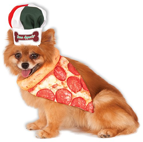 Dog Chef Hat (Bone Appetite Pizza Chef Pet Set,)