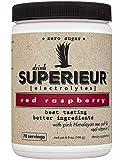 Superieur Electrolytes - Electrolyte Hydration Powder, Red Raspberry, 70 Servings - Keto Friendly, Non-GMO, Zero Sugar…
