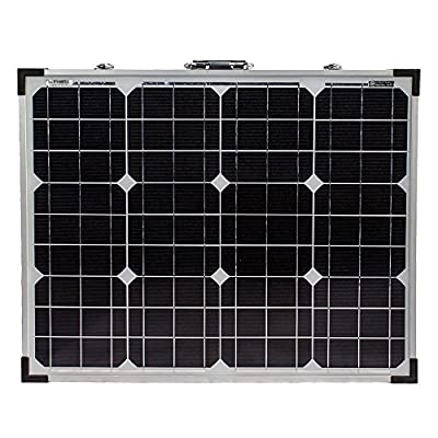 100W Foldable Solar Panel Complete Kit for Battery Off Grid Camping - Mighty Max Battery brand product
