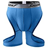 CBTLVSN Men Shorts Lightweight Breathable Cut Compression Athletic Shorts 3 Large