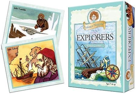 Professor Noggins Explorers Outset Media 10440 Educational Trivia Card Game
